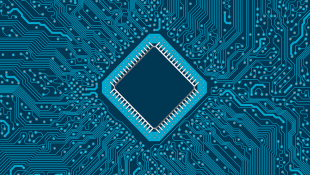 what's next for moore's law - detail of a microprocessor