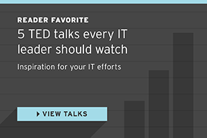 5 TED talks every IT leader should watch