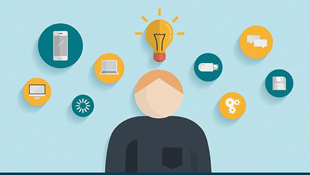 CIO idea with lightbulb