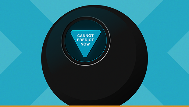 Magic 8 Ball Cannot Predict Now