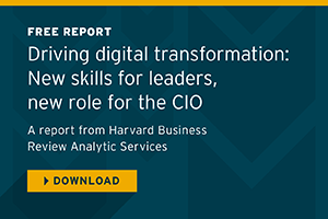 Driving Digital Transformation Report