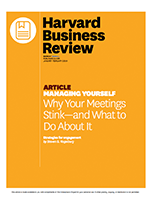 Why your meetings stink – and what to do about it
