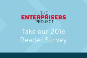 Reader Survey Widget 2016